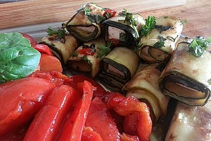 Eingelegte Zucchiniröllchen 17