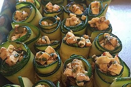 Eingelegte Zucchiniröllchen 42