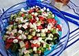 Bauernsalat, griechisch