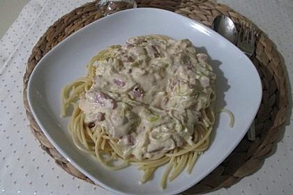 Schinken - Lauch - Pasta 1