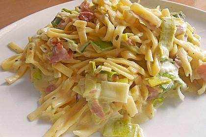 Schinken - Lauch - Pasta 3