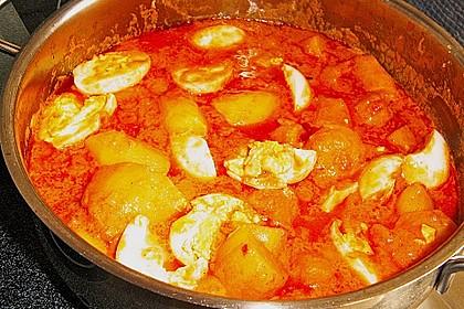 Eier - Kartoffel - Curry 8