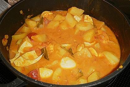 Eier - Kartoffel - Curry 1