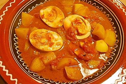 Eier - Kartoffel - Curry