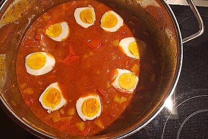 Eier - Kartoffel - Curry 6