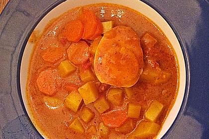 Eier - Kartoffel - Curry 4