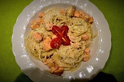 Lachsspaghetti à la Carbonara 1