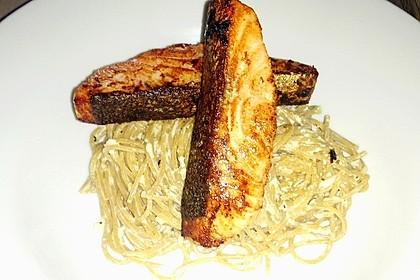 Lachsspaghetti à la Carbonara 6