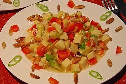 Apfel - Käse - Salat