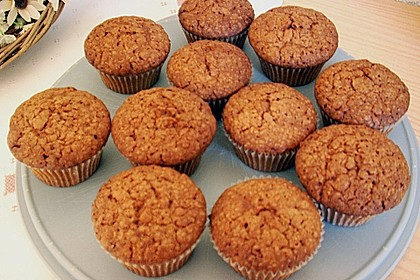 Nutella - Mandel - Muffins 4
