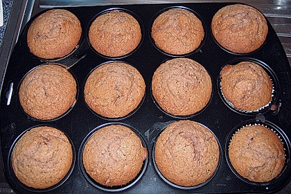 Nutella - Mandel - Muffins 6