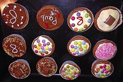 Nutella - Mandel - Muffins 12