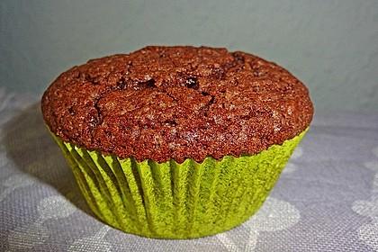 Nutella - Mandel - Muffins