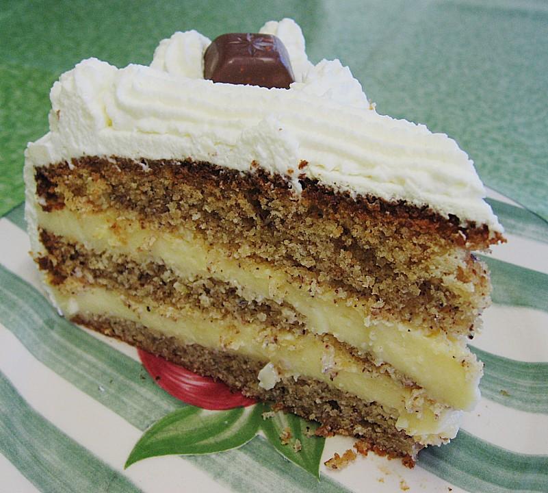 Nuss Pudding Torte Von Sweetgina Chefkoch De
