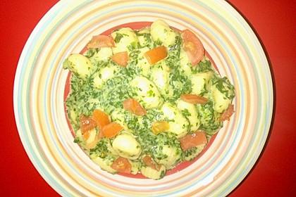 Gnocchi in Spinatkäsesoße 24