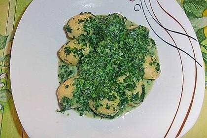 Gnocchi in Spinatkäsesoße 25