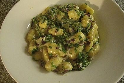 Gnocchi in Spinatkäsesoße 30