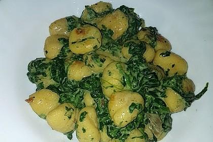 Gnocchi in Spinatkäsesoße 40