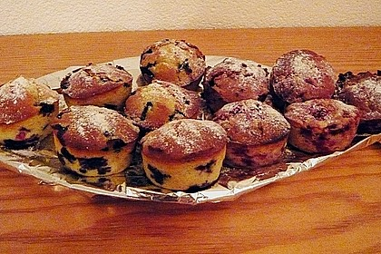 The best blueberry Muffins 48