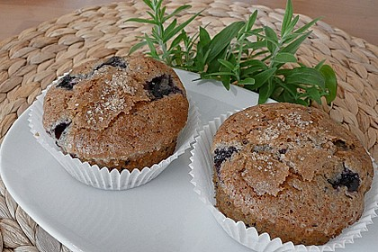 The best blueberry Muffins 16