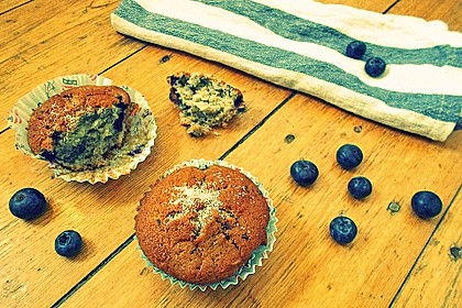 The best blueberry Muffins 21