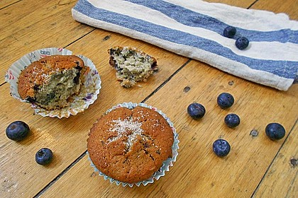 The best blueberry Muffins 5