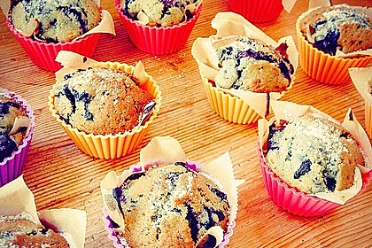 The best blueberry Muffins 3