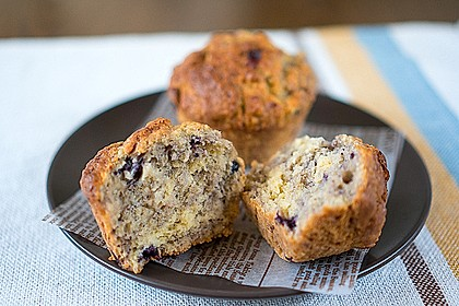 The best blueberry Muffins 8