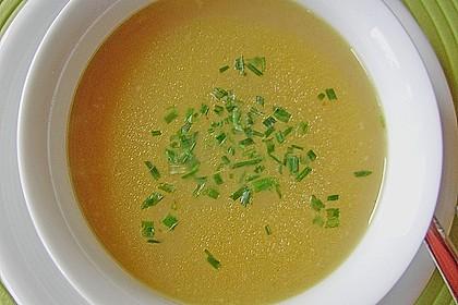Gebrannte Grießsuppe 7