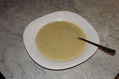 Gebrannte Grießsuppe 10