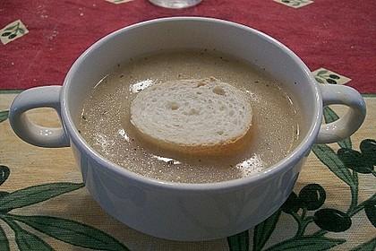 Gebrannte Grießsuppe 13