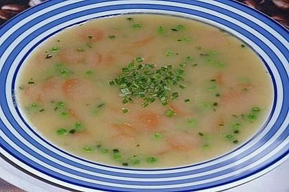 Gebrannte Grießsuppe 15