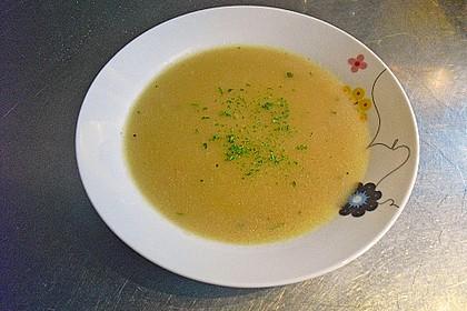Gebrannte Grießsuppe 4