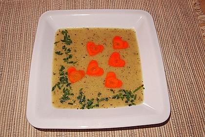 Gebrannte Grießsuppe 2
