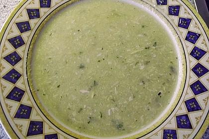 Gebrannte Grießsuppe 16