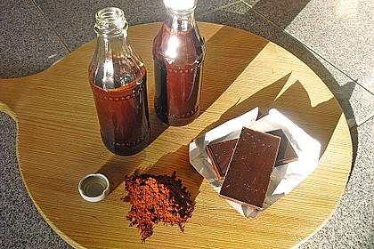Schokoladensirup 4