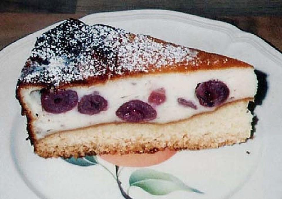 Kase Kirsch Kuchen Von Wyrwaa Chefkoch De