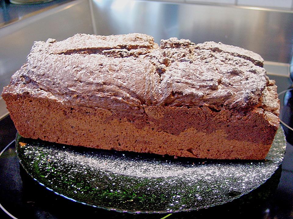 Cappu Choco Kuchen In Der Kastenform Von Floo Chefkoch De