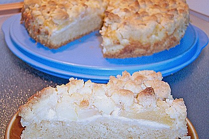 Apfel - Pudding Kuchen