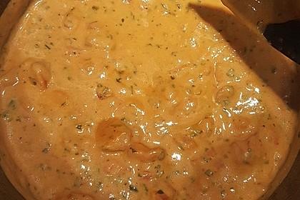 Einfache Tomaten - Sahne Sauce 2