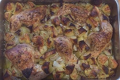 Griechisches Zitronenhühnchen 6