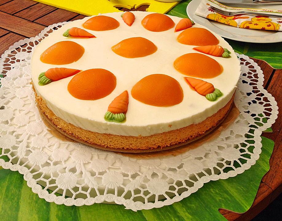 Pfirsich Spiegelei Torte Von Schnuebi Chefkoch De