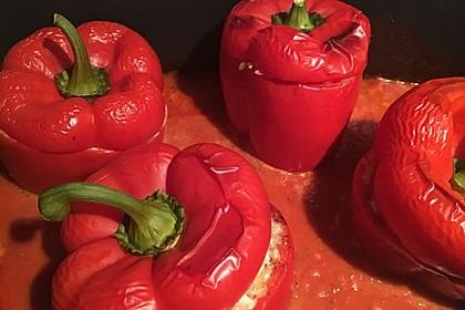 Gefüllte Paprika mit Bulgur 9