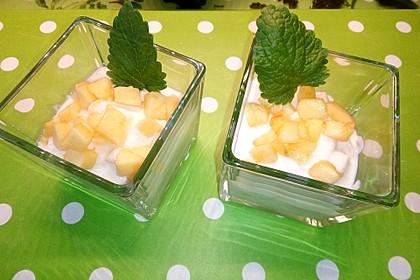 Dreadys Joghurt - Vanillecreme mit Pfirsichen 2