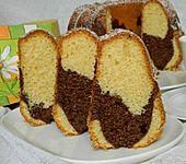 Marmorkuchen mit Dinkelmehl (Bild)