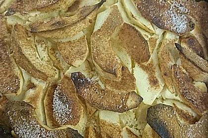 Schneller, saftiger Apfelkuchen (Bild)