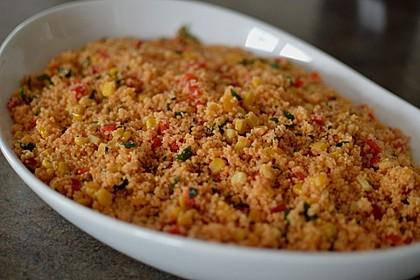 Couscous-Salat, lecker würzig 49