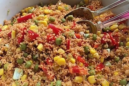 Couscous-Salat, lecker würzig 35