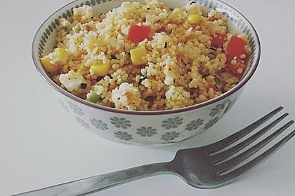 Couscous-Salat, lecker würzig 58