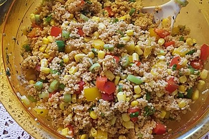 Couscous-Salat, lecker würzig 81